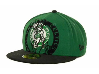 Boston Celtics Over Flock 59FIFTY Cap Hats