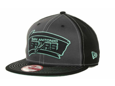 San Antonio Spurs NBA SnapInPop Snapback 9FIFTY Cap Hats
