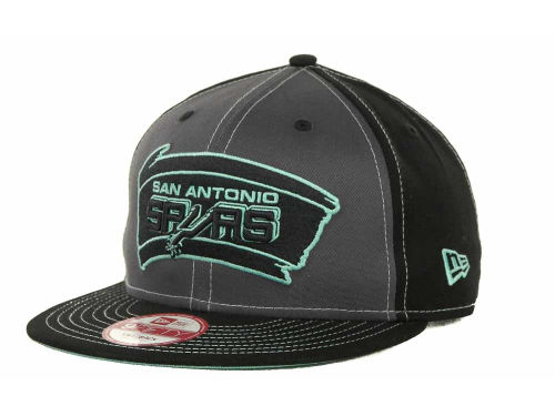 San Antonio Spurs New Era NBA SnapInPop Snapback 9FIFTY Cap Hats