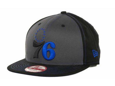 Philadelphia 76ers NBA SnapInPop Snapback 9FIFTY Cap Hats