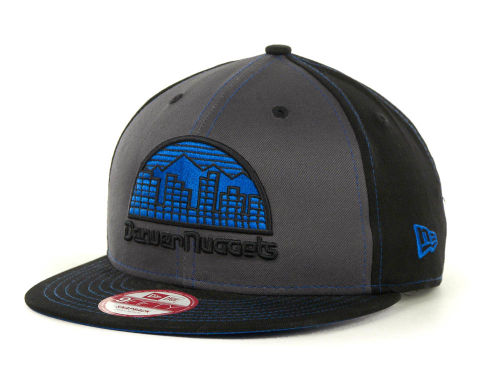Denver Nuggets New Era NBA SnapInPop Snapback 9FIFTY Cap Hats