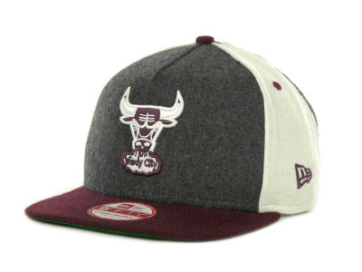 Chicago Bulls NBA Triple Melt Strapback 9FIFTY Cap Hats