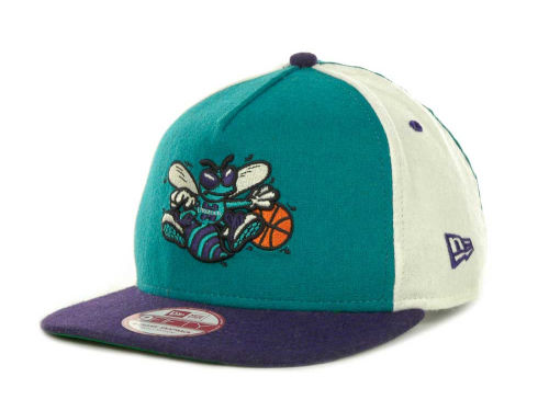Charlotte Hornets New Era NBA Triple Melt Strapback 9FIFTY Cap Hats