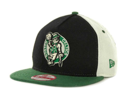 Boston Celtics New Era NBA Triple Melt Strapback 9FIFTY Cap Hats