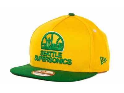 Seattle SuperSonics NBA Turnover Snapback 9FIFTY Cap Hats