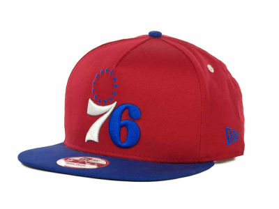 Philadelphia 76ers NBA Turnover Snapback 9FIFTY Cap Hats