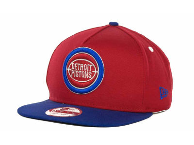 Detroit Pistons NBA Turnover Snapback 9FIFTY Cap Hats
