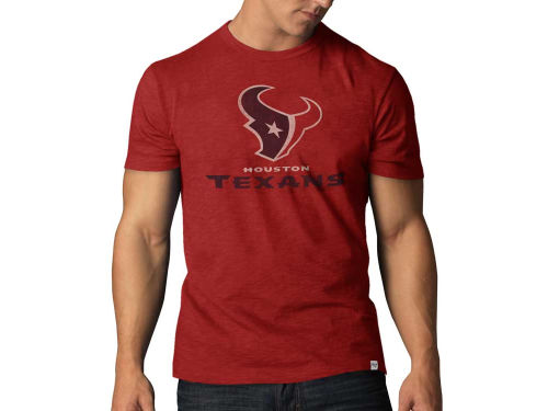 Houston Texans '47 Brand NFL Logo Scrum T-Shirt