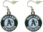 Oakland Athletics Aminco Inc. Logo Earrings Jewelry