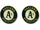 Oakland Athletics Aminco Inc. Logo Post Earrings Jewelry