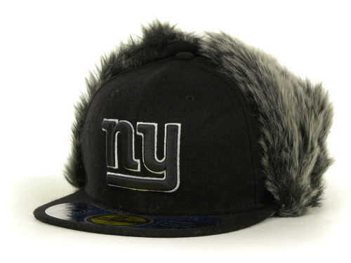 New York Giants New Era NFL Knock Cold Dog Ear 59FIFTY Cap Hats