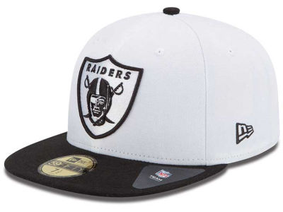 Oakland Raiders NFL Inverse 59FIFTY Cap Hats