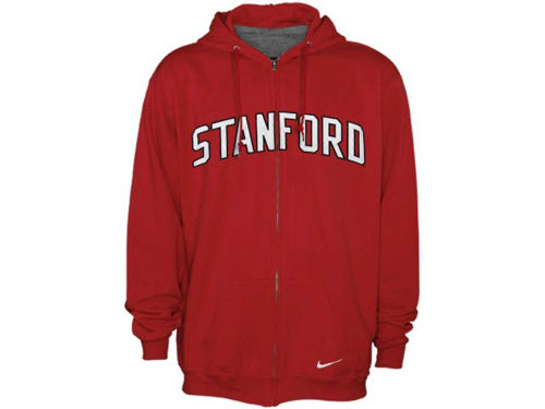 Stanford Cardinal Nike NCAA Classic Full Zip Hooded Sweatshirt