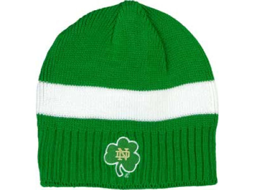 Notre Dame Fighting Irish adidas NCAA EI Striped Knit Hats
