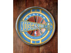Denver Nuggets Chrome Clock Bed & Bath