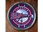 Colorado Avalanche Chrome Clock Bed & Bath