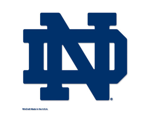 Notre Dame Fighting Irish Wincraft 8x8 Die Cut Full Color Decal