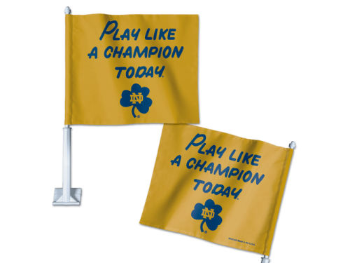 Notre Dame Fighting Irish Wincraft Car Flag