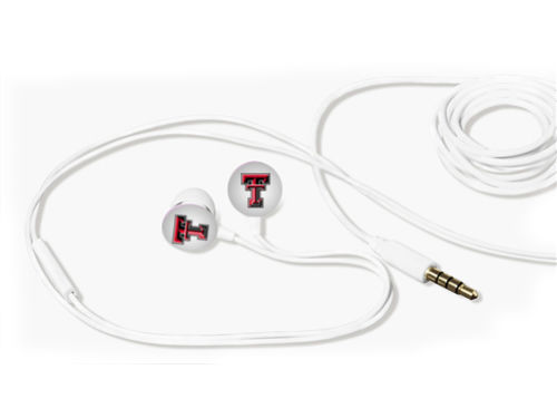 Texas Tech Red Raiders Earbuds with Microphone