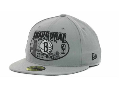Brooklyn Nets NBA Inaugural Season 59FIFTY Cap Hats
