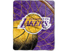 Los Angeles Lakers The Northwest Company 50x60in Sherpa Throw Bed & Bath