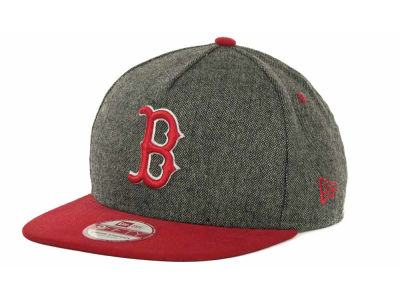 Boston Red Sox MLB Tweed Strapback 9FIFTY Cap Hats