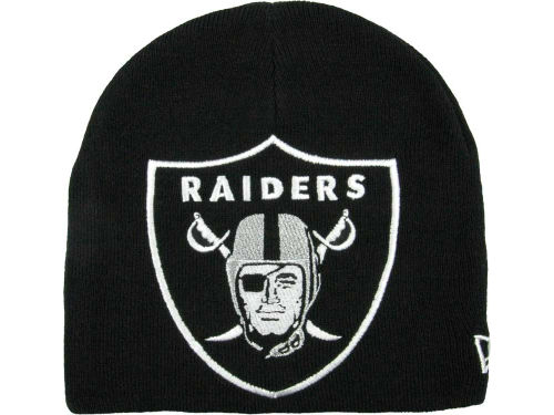 Oakland Raiders New Era NFL Big One Too Knit Hats