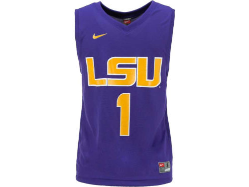 LSU Tigers Nike NCAA Youth Chase Basketball Jersey