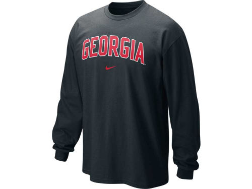 Georgia Bulldogs Nike NCAA Long Sleeve Classic Arch T-Shirt