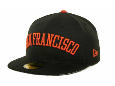 San Francisco Giants MLB All City Patch 59FIFTY Cap Hats