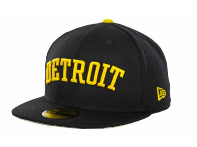 Detroit Tigers MLB All City Patch 59FIFTY Cap Hats