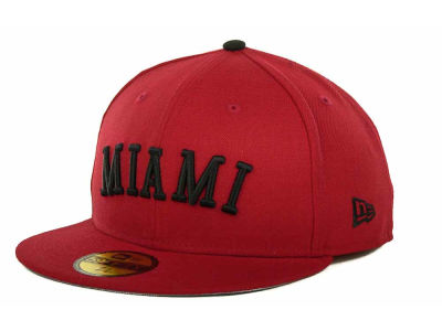 Miami Marlins MLB All City Patch 59FIFTY Cap Hats