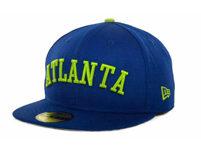 Atlanta Braves MLB All City Patch 59FIFTY Cap Hats