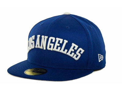 Los Angeles Dodgers MLB All City Patch 59FIFTY Cap Hats