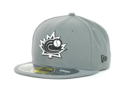 Canada MLB 2013 World Baseball Classics Gray Black White 59FIFTY Cap Hats