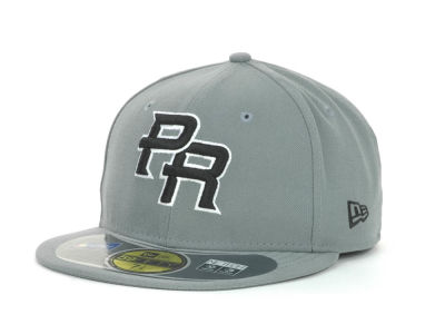 Puerto Rico MLB 2013 World Baseball Classics Gray Black White 59FIFTY Cap Hats