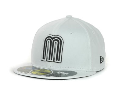 Mexico MLB 2013 World Baseball Classics White Black 59FIFTY Cap Hats