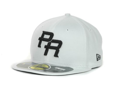 Puerto Rico MLB 2013 World Baseball Classics White Black 59FIFTY Cap Hats