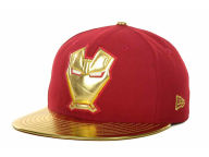 Marvel Ironman Metallic Face 59FIFTY Cap Fitted Hats
