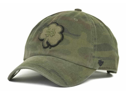 Notre Dame Fighting Irish '47 NCAA Operation Hat Trick Movement Clean Up Cap Hats