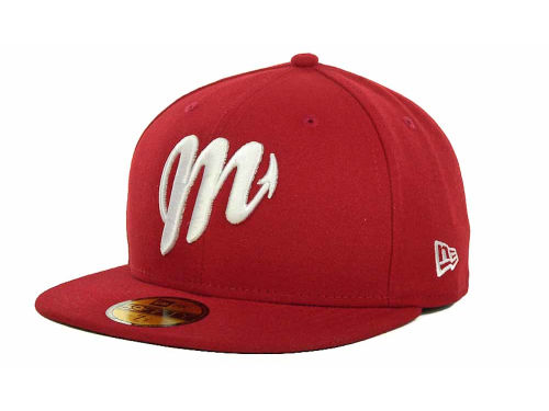 Diablos Rojos del Mexico New Era Mexican Pro 59FIFTY Cap Hats