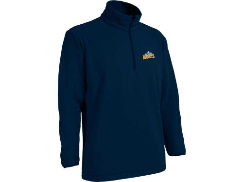 Denver Nuggets Antigua NBA Frost 1/4 Zip Fleece