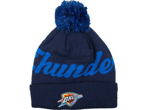 Oklahoma City Thunder adidas NBA Pom Knit 12-13 Hats
