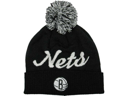 Brooklyn Nets adidas NBA Pom Knit 12-13 Hats