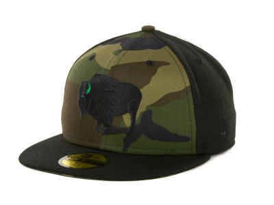 Buffalo Branded Custom Collection 59FIFTY Cap Hats