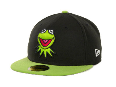 Kermit The Frog Branded Custom Collection 59FIFTY Cap Hats
