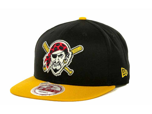 Pittsburgh Pirates New Era MLB Glow In The Dark Snap 9FIFTY Cap Hats