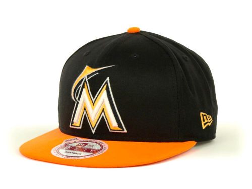 Miami Marlins New Era MLB Glow In The Dark Snap 9FIFTY Cap Hats