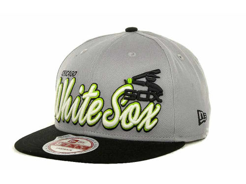 Chicago White Sox New Era MLB Glow In The Dark Snap 9FIFTY Cap Hats