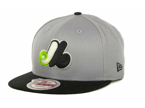 Montreal Expos New Era MLB Glow In The Dark Snap 9FIFTY Cap Hats